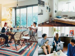 暮らしはもっと自由に、おしゃれに、東京シェアハウス物語