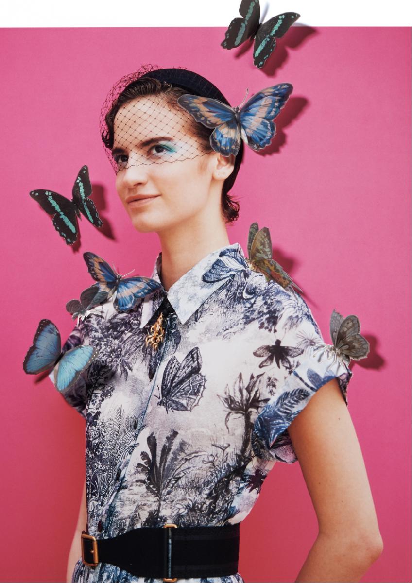 title:Blue Butterfly