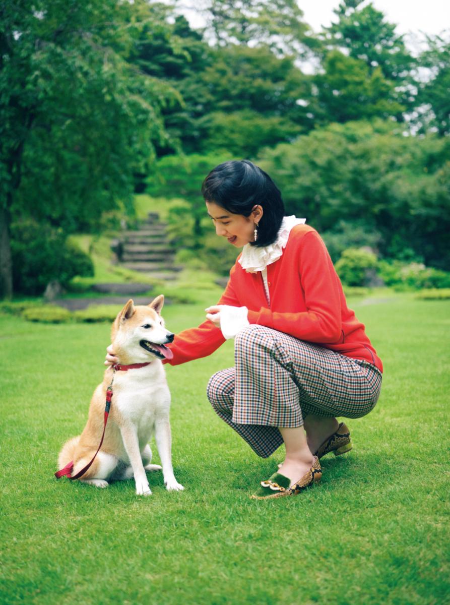 愛犬とたわむれる日曜日