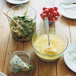 ガラスの器と夏の前菜 - 今月のひと皿 | vol. 4