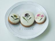 【cotito ハナトオカシト】「お花とホワイトチョコのクッキー」