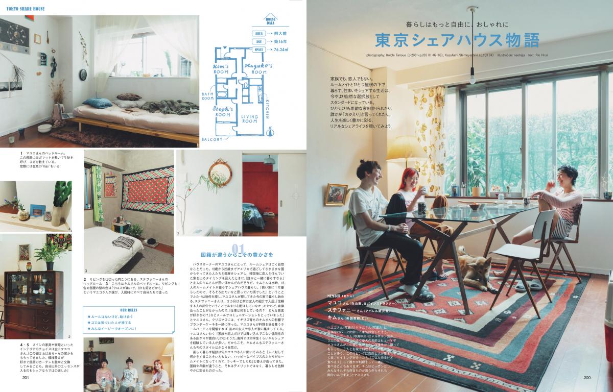 東京シェアハウス物語