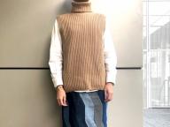 衝動買いしたデニムのパッチワークスカート<12月21日、編集A>
