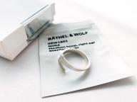 買うと決めていたRÄTHEL & WOLFのイヤーカフ