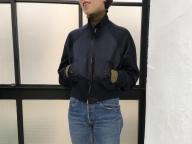 シルエットが美しいモードなドリズラージャケット<2月13日、デザイナーO>