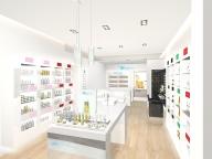 オーガニックファーマシーの日本初旗艦店がオープン! メイクアップラインも初上陸