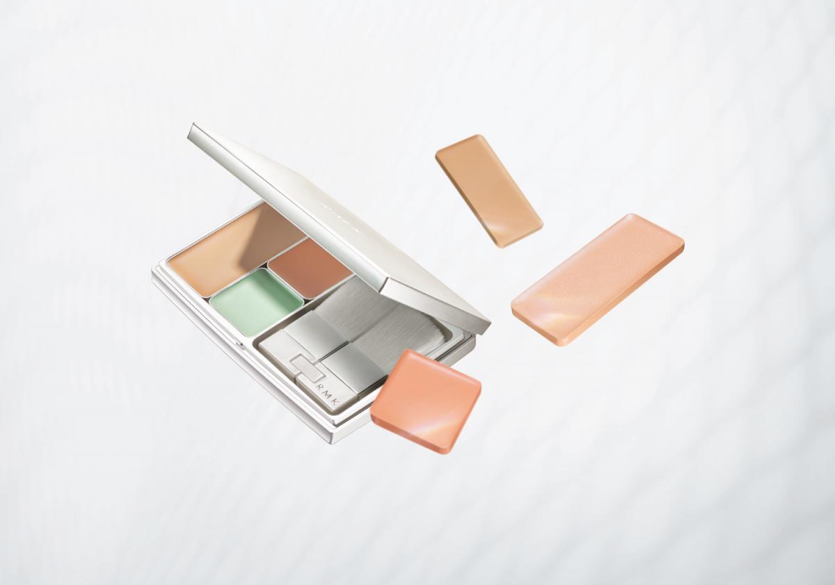 RMK 3Dフィニッシュヌード SPF20・PA++〈レフィルFのみ〉 セット価格¥5,5OO、同3Dフィニッシュヌード C(レフィル) 全2色 各¥1,000(数量限定発売中)、同3Dフィニッシュヌード P(レフィル) 全2色 各¥1,000(数量限定発売中)、同3Dフィニッシュヌード F(レフィル)SPF20・PA++ 全2色 各¥2,000、同3Dフィニッシュヌード P(レフィル) 全2色 各¥2,000