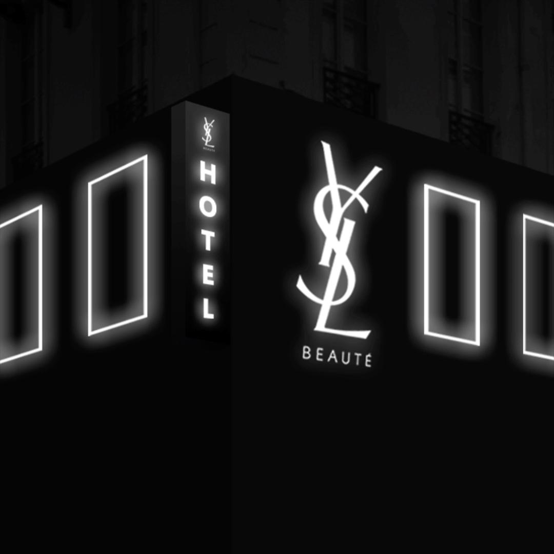 パリをはじめ世界各国で開催されている体感型イベント「YSL BEAUTY HOTEL」
