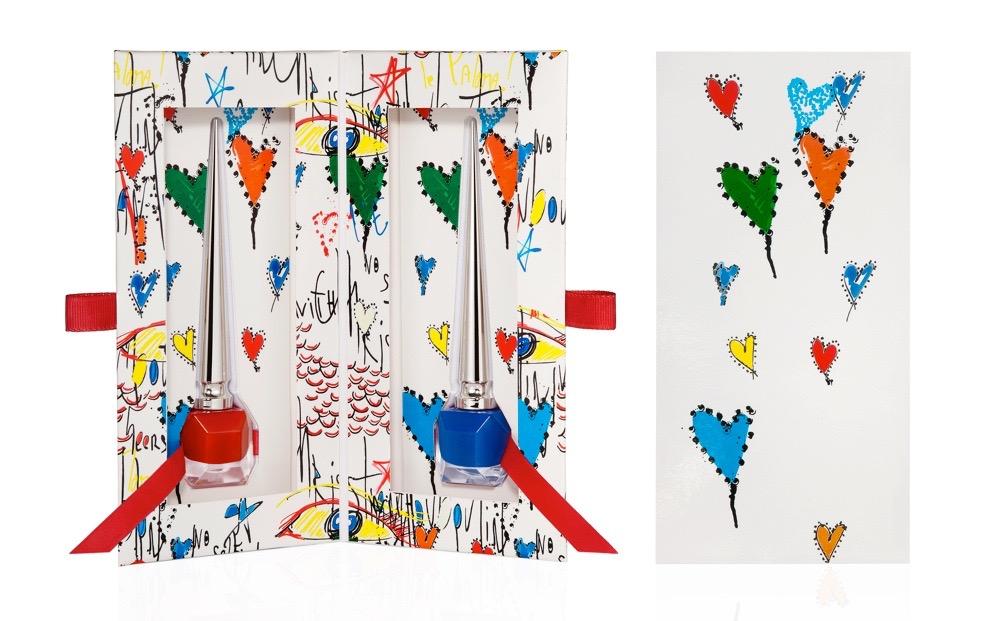ルビタグ コレクションⅢ(ネイルカラー エッジィポピー、バラボンのセット) ¥8,000(数量限定発売中)