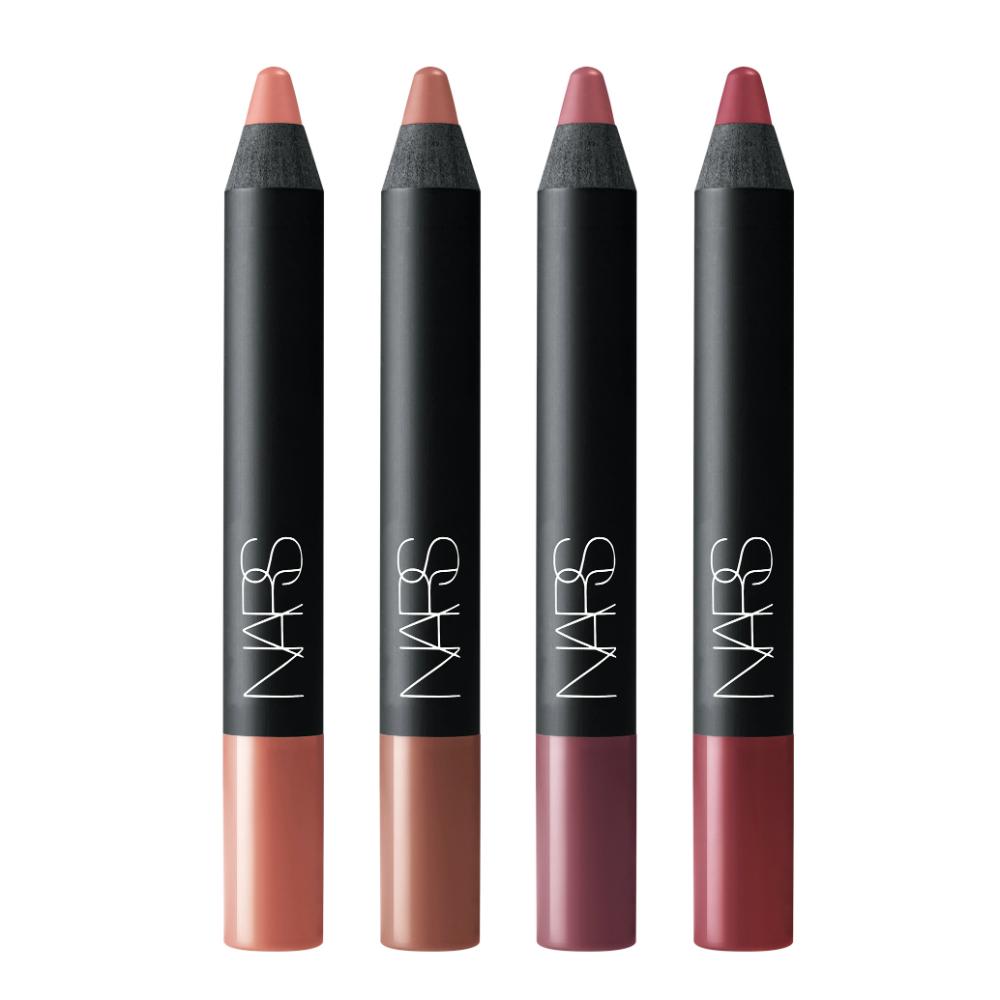 NARS ランサム ベルベットマットリップペンシルセット(ベルベットマットリップペンシル 4本、限定ポーチのセット) ¥12,800(2018年11月22日NARSカウンター、NARS Cosmetics オフィシャルサイト限定発売)