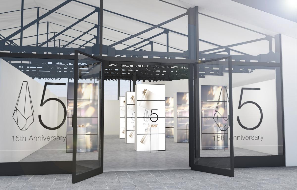 """""""美の衝撃""""をコンセプトに考案された現代アートのインスタレーションのような空間"""