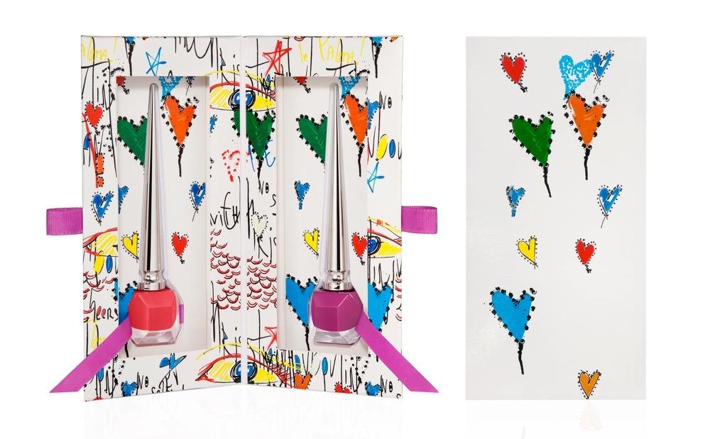 ルビタグ コレクションⅡ(ネイルカラー ミスルビ、ボリドンナのセット) ¥8,000(数量限定発売中)