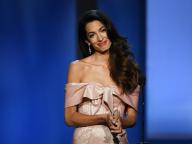 ハリウッド女優も黙る美貌と本物の知性。現代女性のロールモデル、アマル・クルーニーの華麗なファッションに迫る