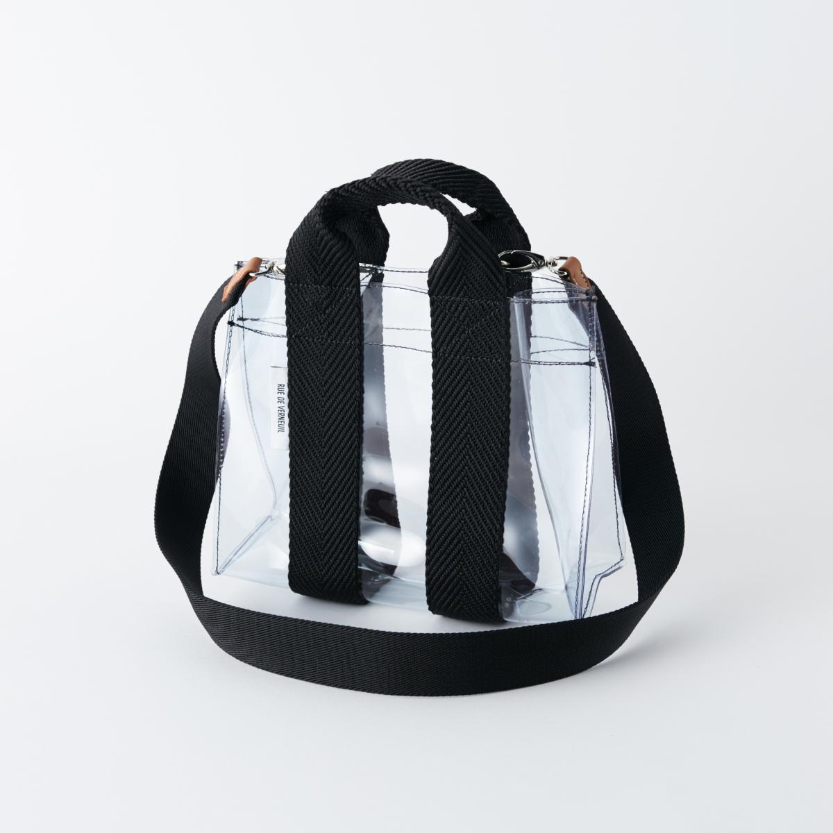 人気バッグがトランスペアレントに【リュ ドゥ ヴェルヌイユ】
