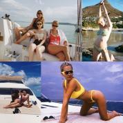 夏真っ盛り! 人気セレブからファッション界の新星まで、おしゃれな水着スタイル32