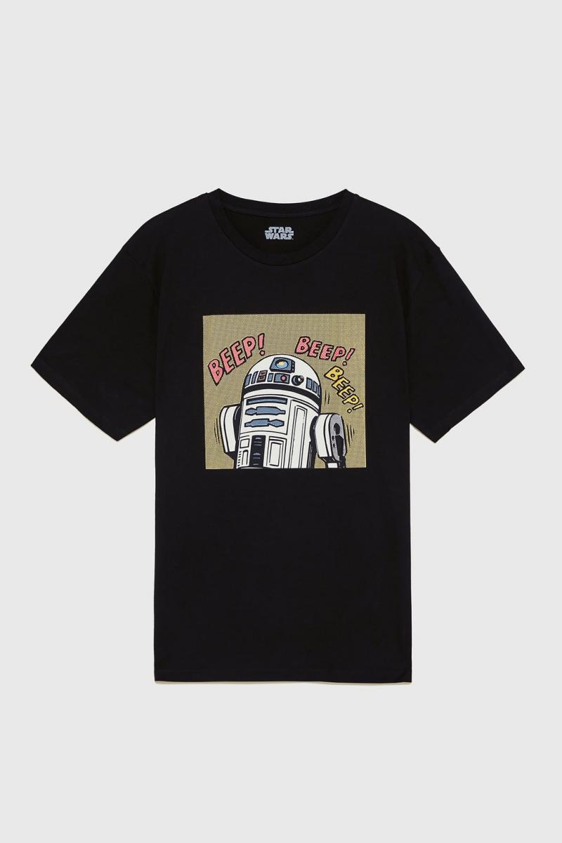 メンズ用Tシャツ¥2,990/ザラ(©︎DISNEY)