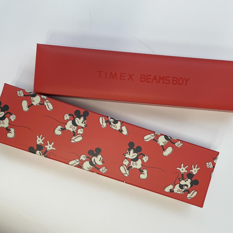 箱にもミッキー!胸がときめきます。