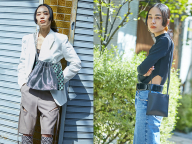 スタイリスト濱本愛弓さんが実践! BIGOTREのミニバッグでつくる、モードな春の装い