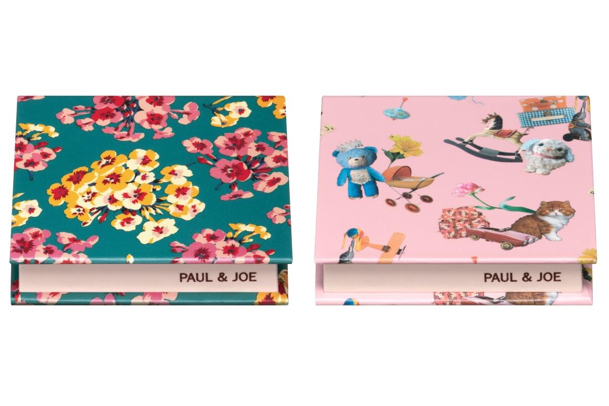 ポール & ジョー コンパクト 全3種 各¥1,000(2020年8月1日発売)
