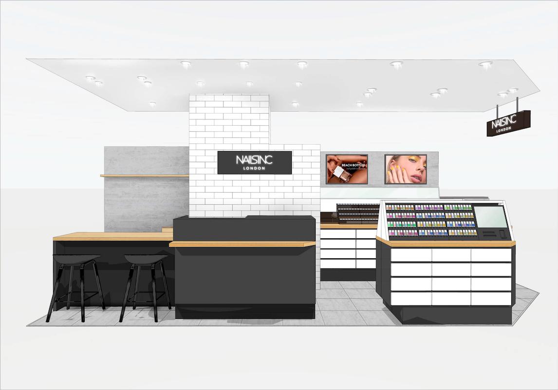 ルミネ横浜に2019年9月2 日(月)に「NAILS INC」直営店がオープン