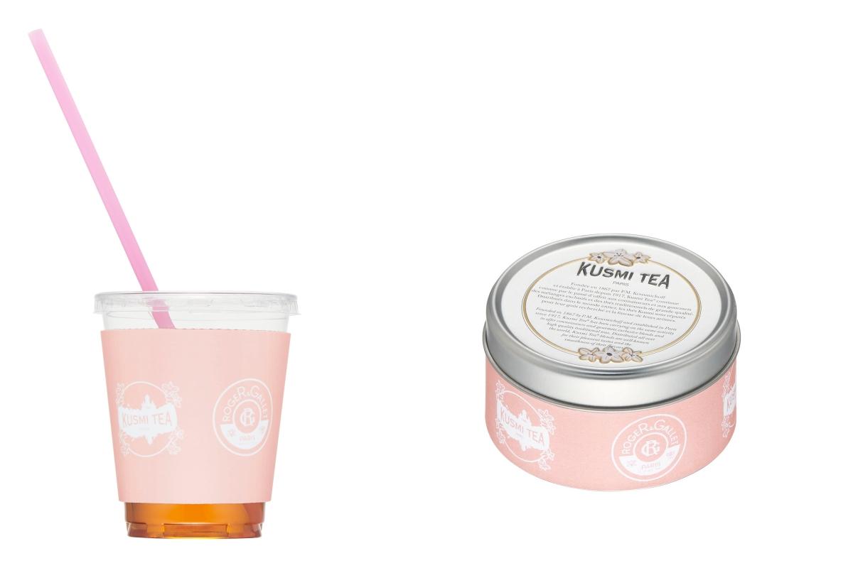 (左)クスミティー アールグレイアイスティ (右)クスミティー 紅茶(25g缶)