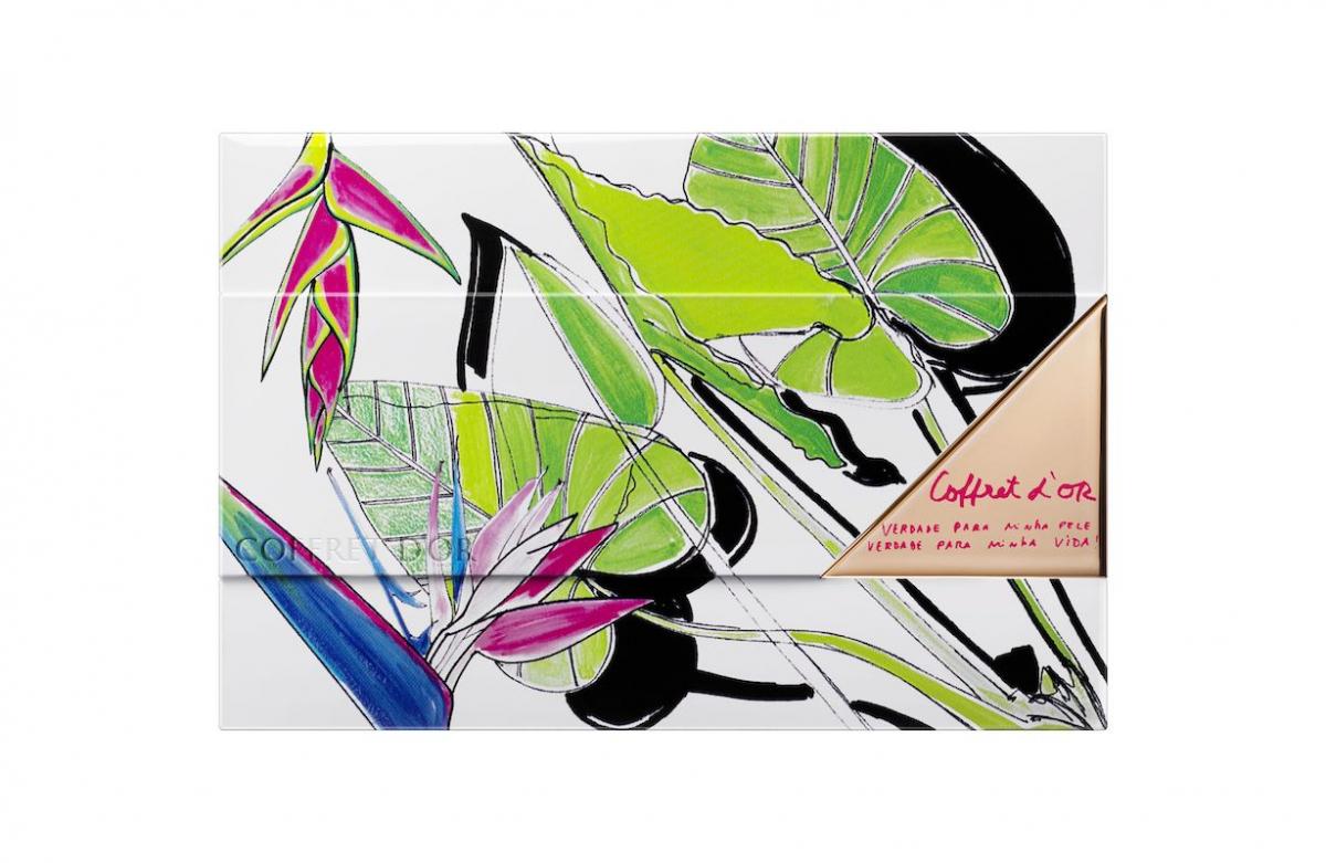 カネボウ化粧品 コフレドール ヌーディカバー ロングキープパクトUV リミテッドセットf ¥3,300(2019年2月16日発売) ※セット内容:ヌーディカバー ロングキープパクトUV(現品)、限定デザイナーズケース