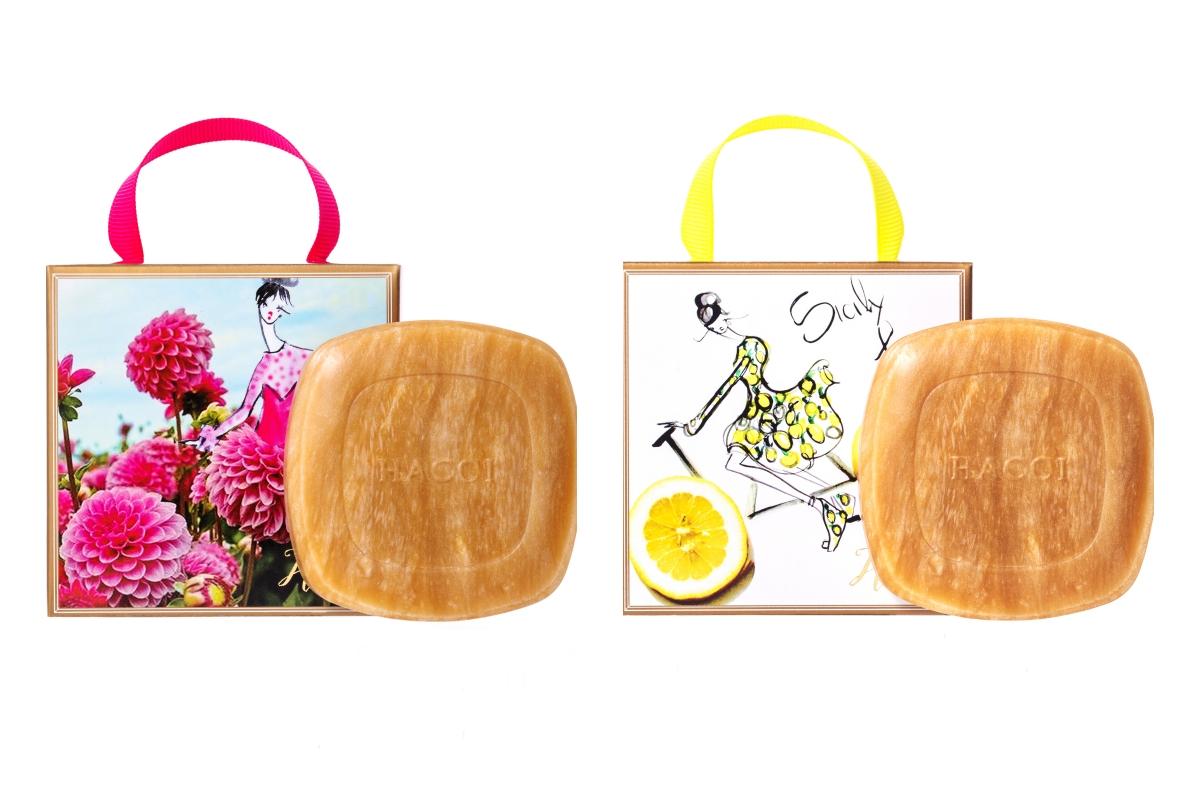 フレッシュで爽やかなレモンと、夏を代表する花ダリアがモチーフ