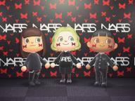 「NARS クローデットコレクション」と「あつ森」が驚きのコラボ!  星や蝶々のキャッチーなカスタムを楽しんで