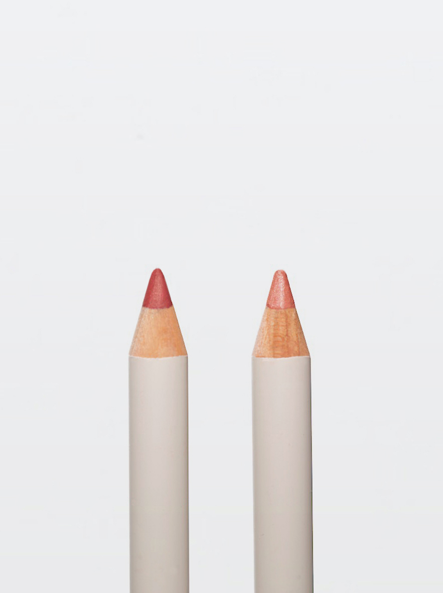 GRID ルージュリップペンシル 左から/バーガンディ、ベージュ 各 ¥3,500(2019年11月20日発売)※ロンハーマンにて先行発売中