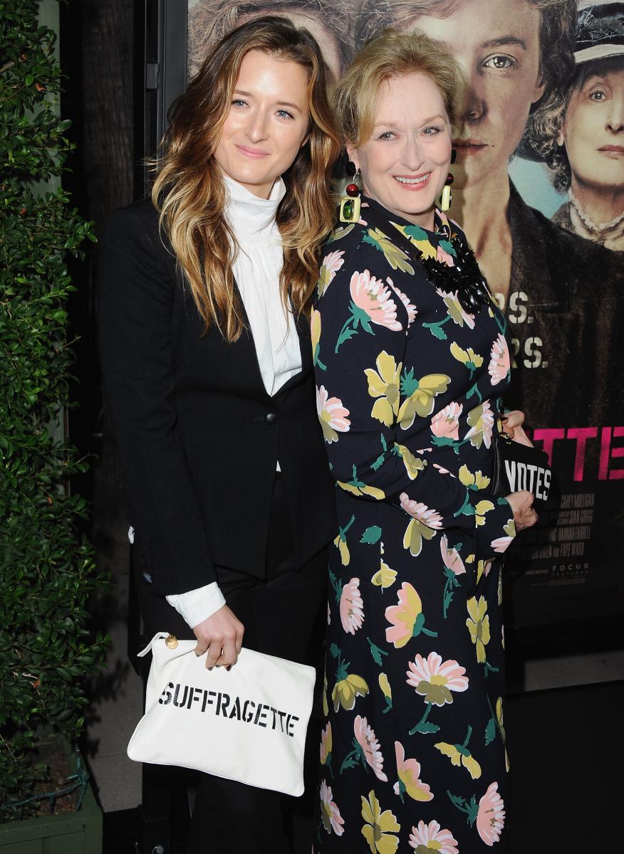 グレイスと大女優の母メリル。Photo:Jon Kopaloff/FilmMagic