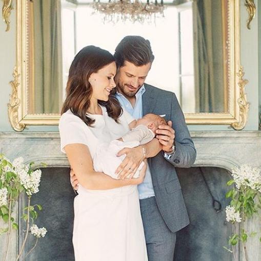 スウェーデン王室、新ベビーの写真を公開 - セレブニュース | SPUR