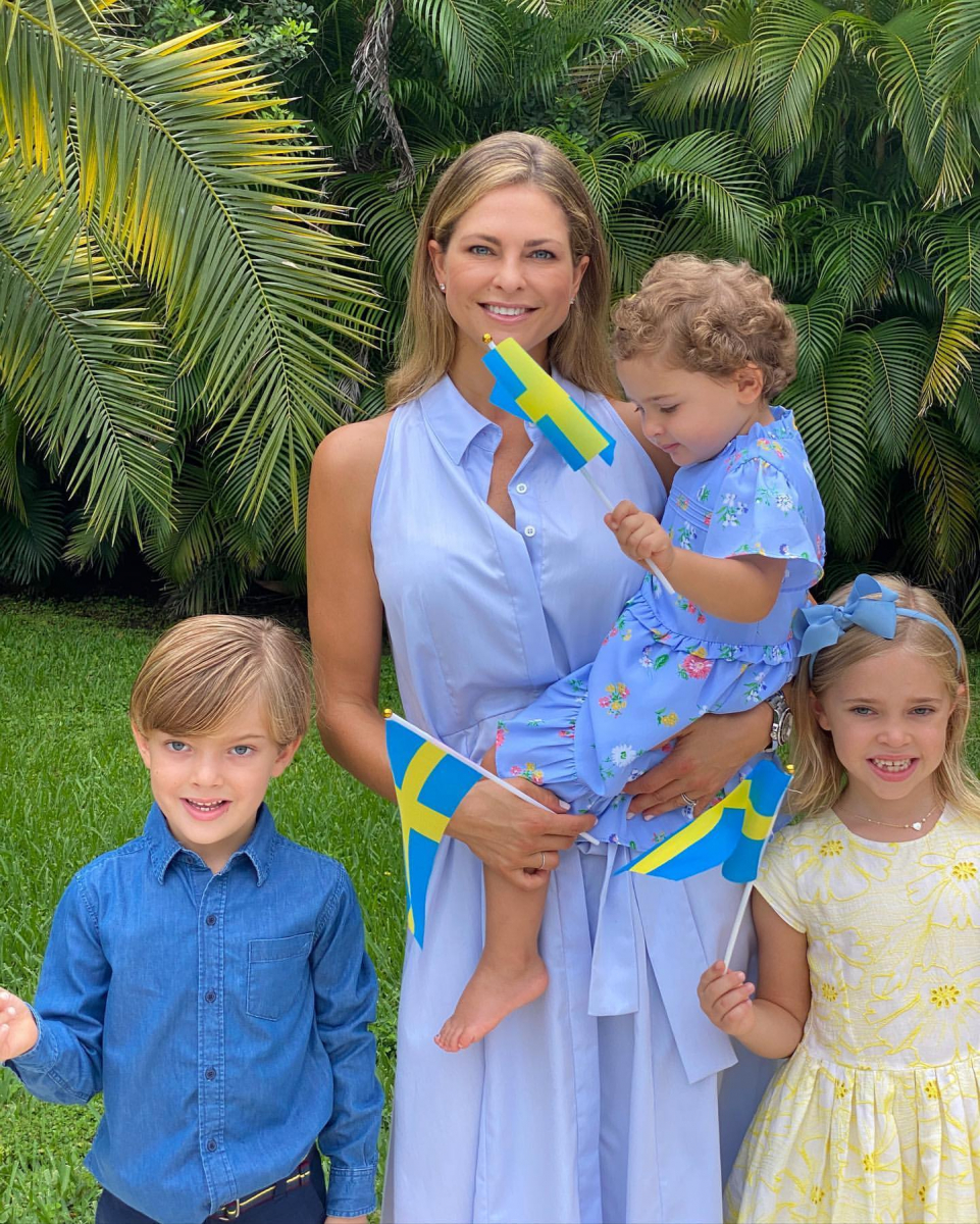 Photo:nstagram(princess_madeleine_of_sweden)