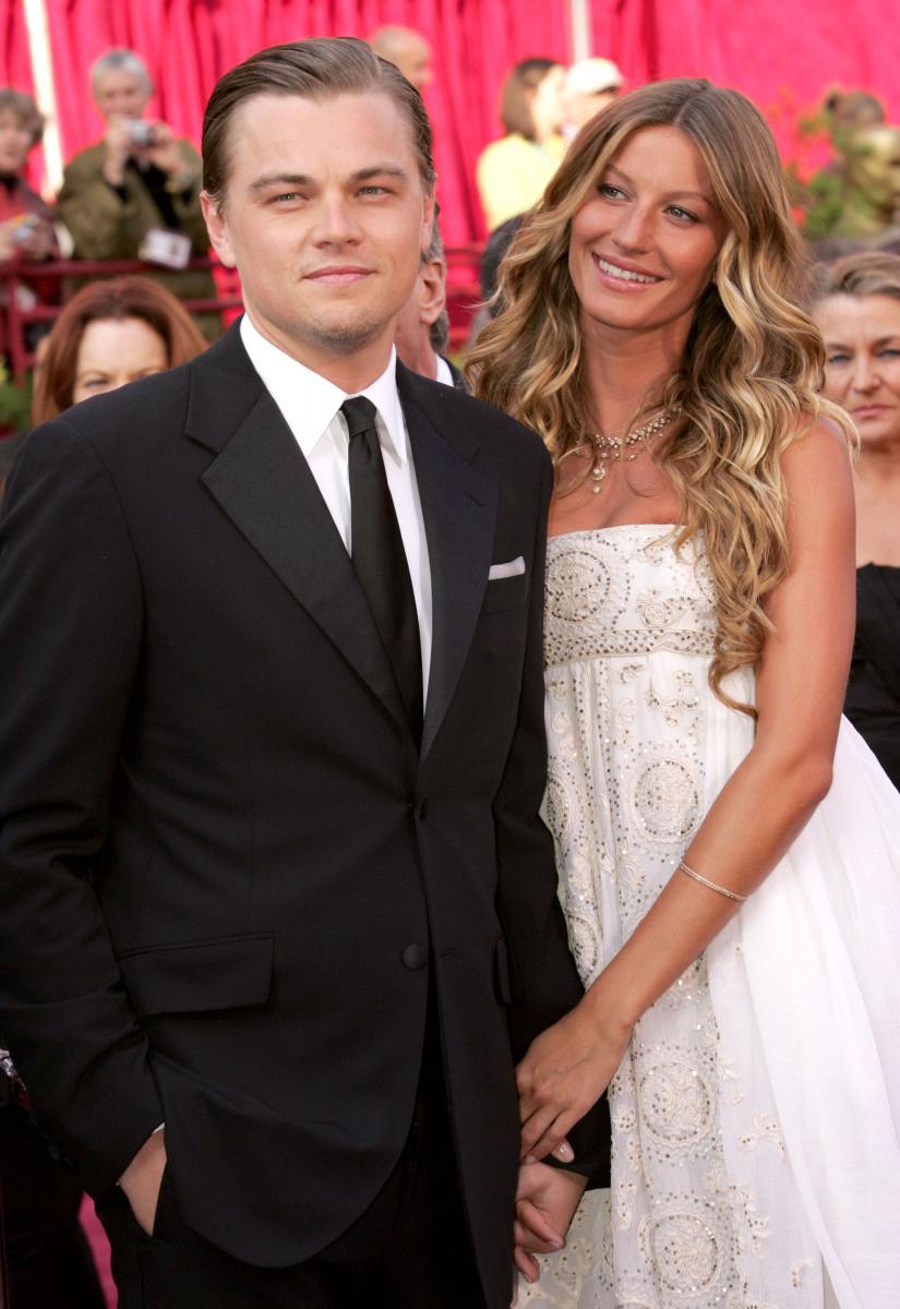 2000年から約5年交際したジゼル・ブンチェン(39)は、レオが母親以外で唯一、アカデミー賞授賞式にエスコートしたガールフレンド。この2005年のアカデミー賞の時、レオは30歳で主演男優賞にノミネートされていたものの、残念ながら受賞はならず。ジゼルとは2005年末に破局。