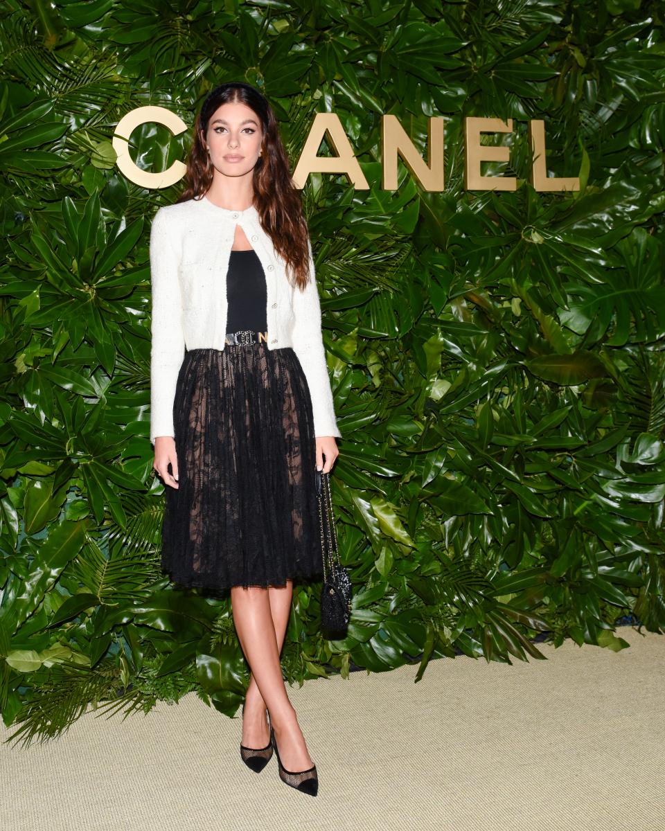 シャネルのイベントに出席したカミラ・モローネ。Photo:bfa.com/アフロ