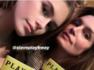 シンディ・クロフォード&18歳の娘カイアがコートを共有! モデル親子のシェア服ファッションが話題の的に
