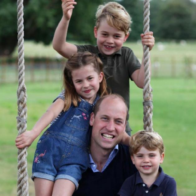 ウィリアム王子、38歳に! パパ愛が溢れる子どもたちとの最新写真に癒される人が続出 - セレブニュース | SPUR