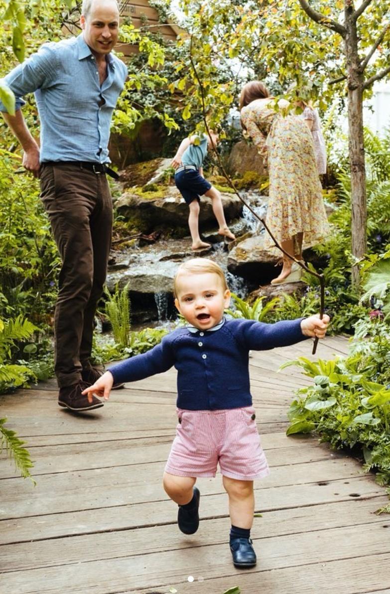 ⑥キャサリン妃が庭園デザインに挑戦! 元気に遊ぶロイヤルキッズに世界はメロメロ