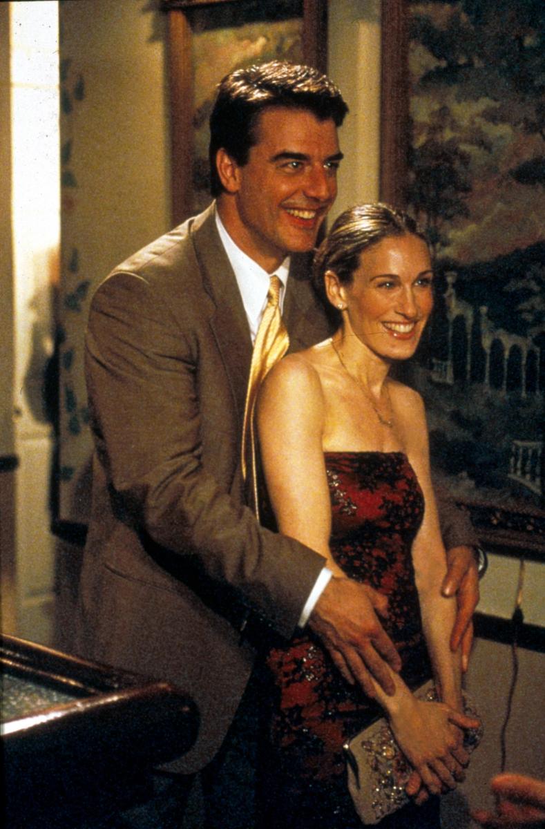 なつかしい! 『SATC』でのミスター・ビッグとキャリー。Photo:Moviestore Collection/AFLO