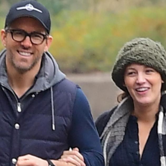 第3子出産後初! ブレイク・ライブリー&ライアン・レイノルズ夫妻の幸せあふれる姿をキャッチ - セレブニュース | SPUR