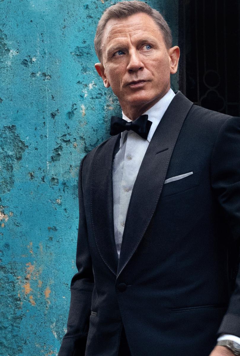 『007/ノー・タイム・トゥ・ダイ』はダニエル演じるジェームズ・ボンドの最後の作品と言われる。Photo:ALBUM/アフロ
