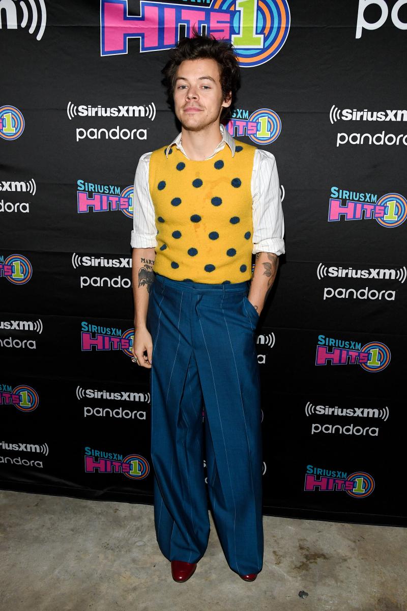 ファッションも注目の的のハリー・スタイルズ。Photo:Kevin Mazur/Getty Images for SiriusXM