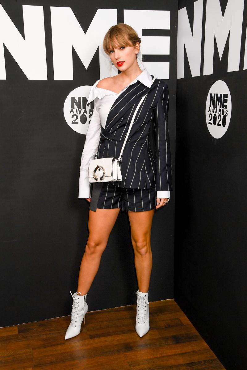 今年2月、ロンドンで行われたNMEアワードに登場したテイラー。Photo:Dave J Hogan/Getty Images
