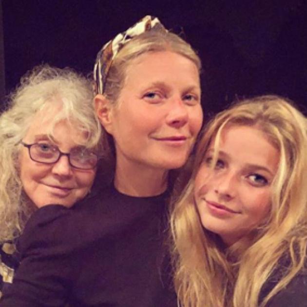 セレブ一家の「美の継承」に絶句! グウィネス・パルトロウ、母娘3世代の激レア・ファミリーフォトを公開 - セレブニュース | SPUR