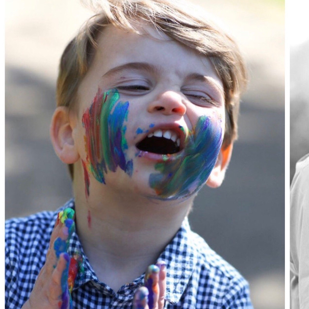 ルイ王子が2歳に! とびきりキュートな絵の具まみれの最新写真に、世界中が癒される - セレブニュース   SPUR