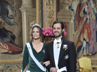 ソフィア妃がレオパード柄ドレスで晩餐会に出席し、世界をアッと驚かせる! ハンサム王子との麗しいツーショットも