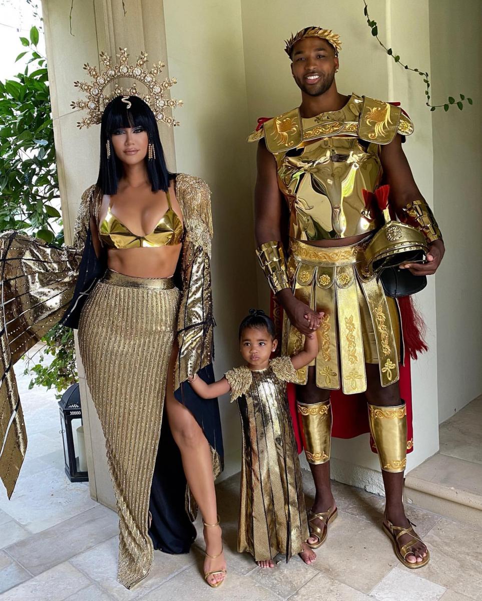 2020年のハロウィンは仲よく家族で仮装していた。