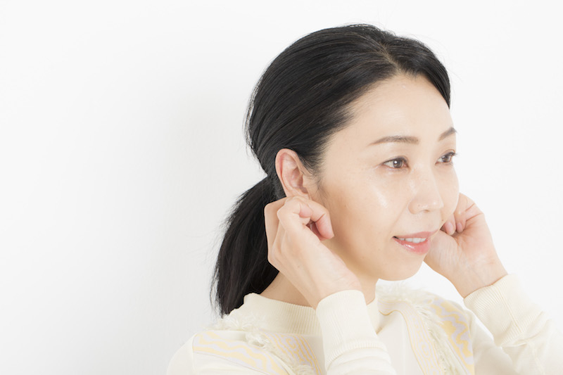 5.耳と首へのついで塗りで差をつける