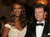 David Bowie and Iman/デヴィッド・ボウイ & イマン