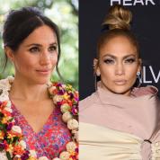 メーガン、キム、J.Lo「大人セレブのお団子ヘアはサイドのちょろ毛が命!」