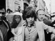 Mick Jagger and Bianca Perez Morena de Macias/ミック・ジャガー & ビアンカ・ペレス・モラ・マシアス